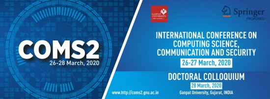 international-conference-on-computing-science-communication-and-security-coms2
